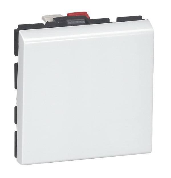 Кнопочный выключатель перекидной 6a (2 Модуля)