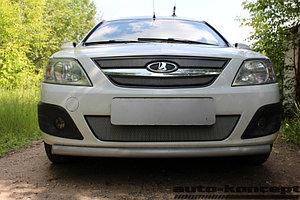 Защита радиатора Lada Largus 2012- chrome низ