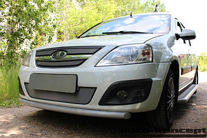 Защита радиатора Lada Largus 2012- chrome верх