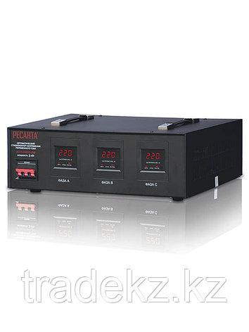 Стабилизатор напряжения трехфазный АСН-3000/3-ЭМ, фото 2