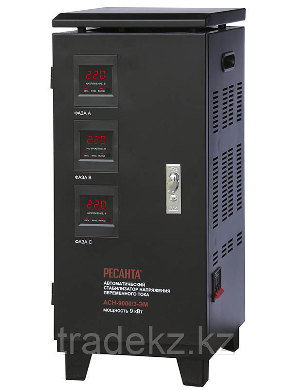 Стабилизатор напряжения трехфазный АСН-9000/3-ЭМ