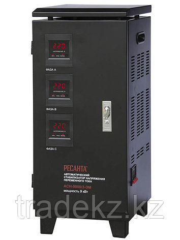 Стабилизатор напряжения трехфазный АСН-9000/3-ЭМ, фото 2