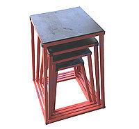 Тумба для запрыгивания Кроссфит металл (набор 4 шт) 50, 60, 70, 80см К138