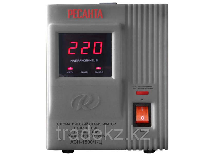 Стабилизатор напряжения электронного типа Ресанта АСН-1500/1-Ц