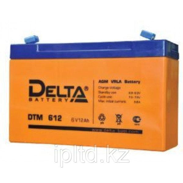 Delta аккумуляторная батарея DT 612 (5 лет)