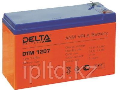 Delta аккумуляторная батарея DT 1207