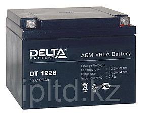 Delta аккумуляторная батарея DT 1226