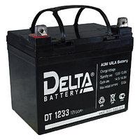 Delta аккумуляторная батарея DT 1233 (5 лет)