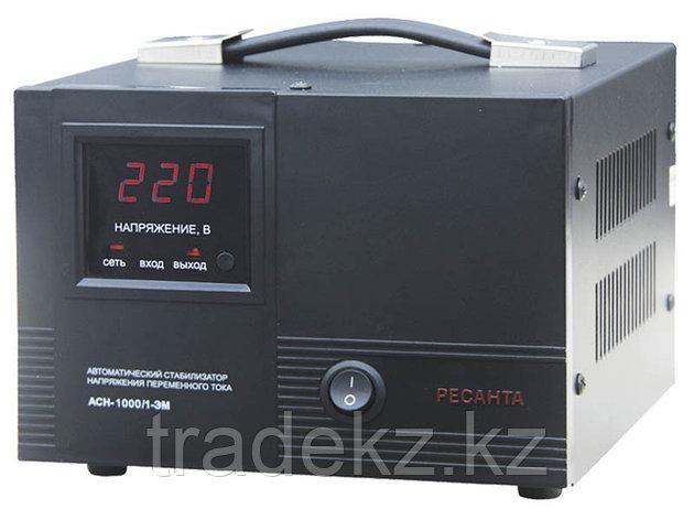 Стабилизатор напряжения электромеханический Ресанта АСН-1000/1-ЭМ, фото 2