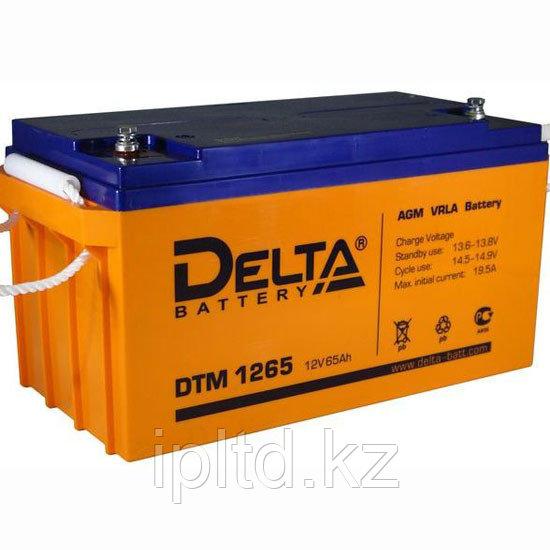 Delta аккумуляторная батарея DT 1265 (7-10 лет)