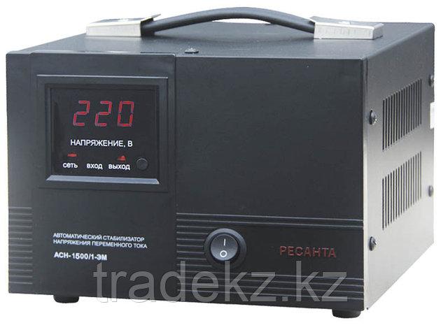 Стабилизатор напряжения электромеханический Ресанта АСН-1500/1-ЭМ, фото 2