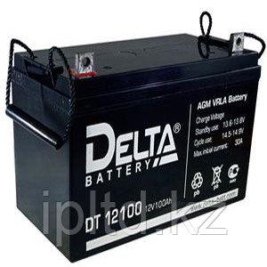 Delta аккумуляторная батарея DT 12100