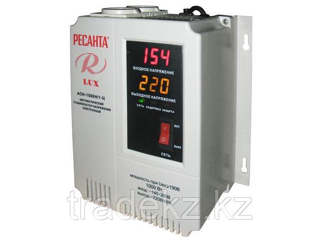 Стабилизатор напряжения электронного типа настенный Ресанта АСН-1000Н/1-Ц LUX, фото 2
