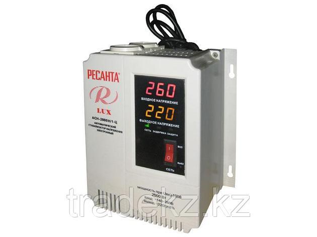 Стабилизатор напряжения электронного типа настенный Ресанта АСН-2000Н/1-Ц LUX, фото 2