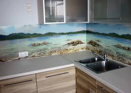 Кухонные фартуки из стекла - фото 2