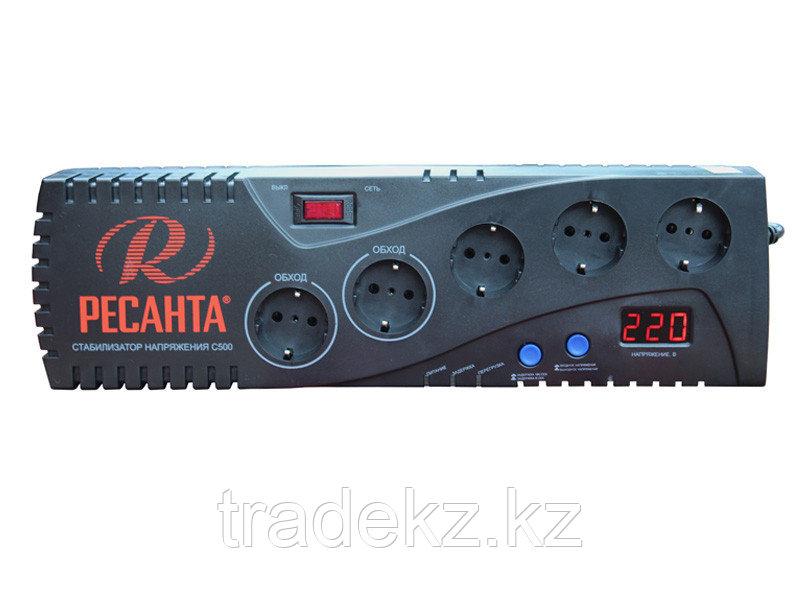 Стабилизатор напряжения бытовой электронного типа Ресанта С500