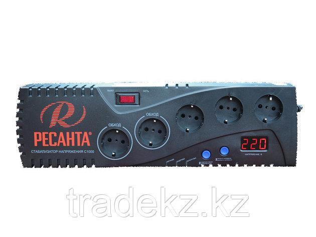 Стабилизатор напряжения бытовой электронного типа Ресанта С1000, фото 2
