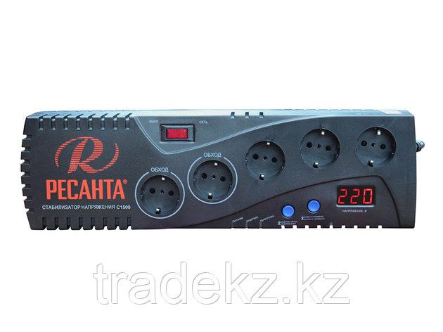 Стабилизатор напряжения бытовой электронного типа Ресанта С1500, фото 2