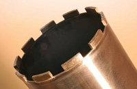 Алмазные трубчатые сверла cегментные Сплитстоун