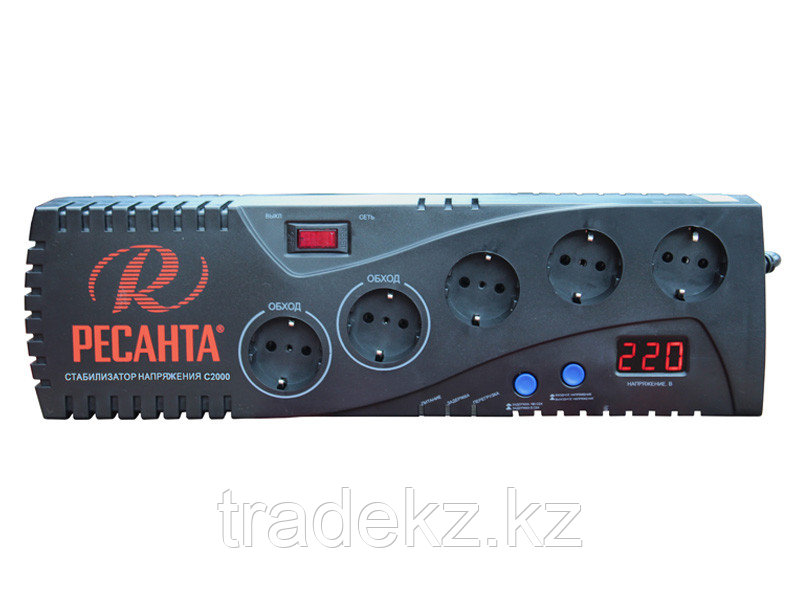 Стабилизатор напряжения бытовой электронного типа Ресанта С2000