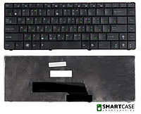 Клавиатура для ноутбука Asus K40 (черная, RU)