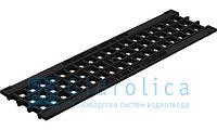 Решетка водоприемная Gidrolica Standart РВ -10.13,6.50 - ячеистая пластиковая, кл. А15, фото 1
