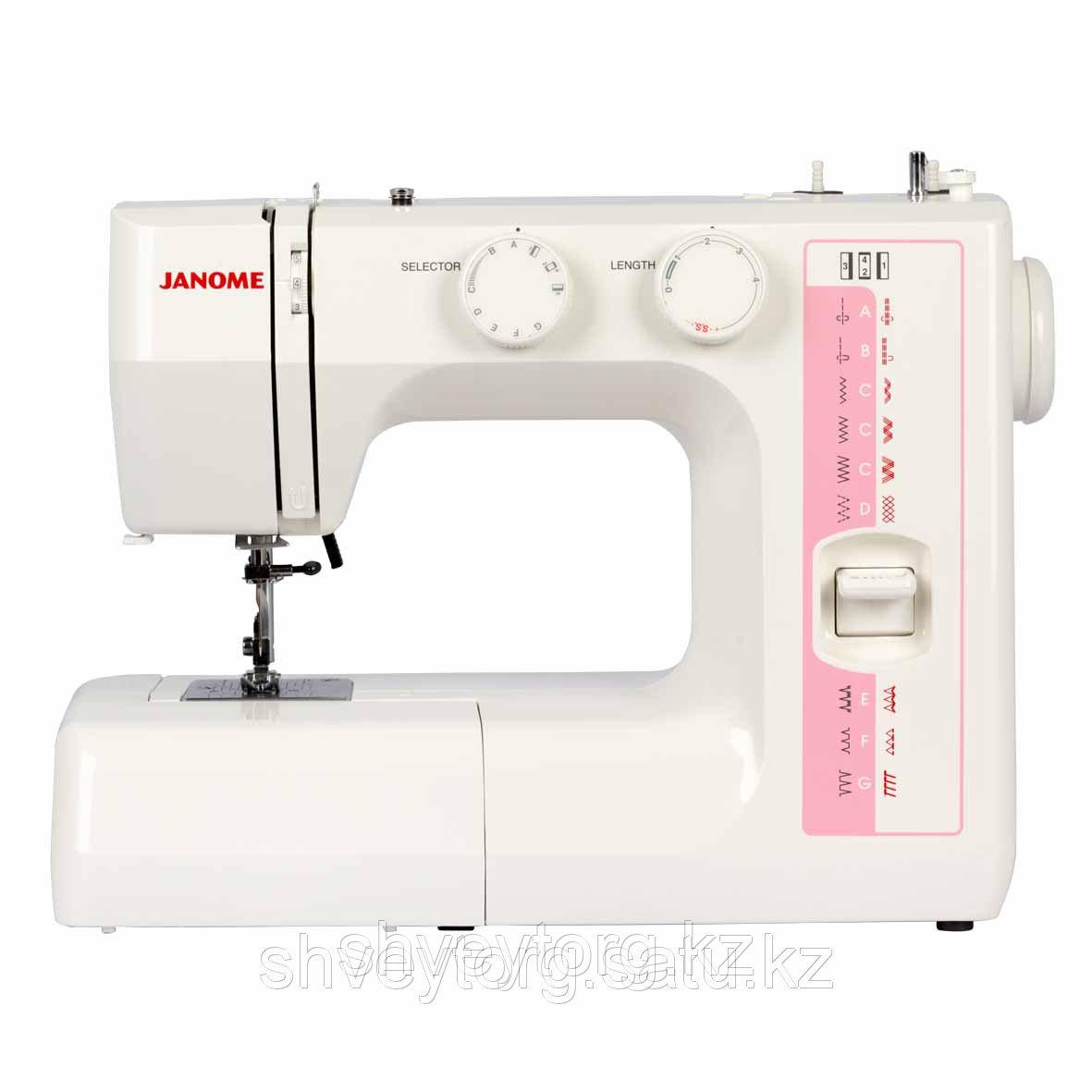 Бытовая швейная машина Janome RE 1712