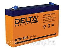 Delta аккумуляторная батарея DTM 607