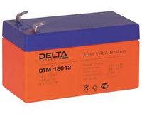 Delta аккумуляторная батарея DTM 12012