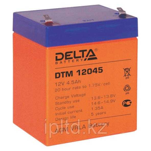 Delta аккумуляторная батарея DTM 12045