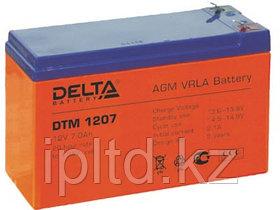 Delta аккумуляторная батарея DTM 1207