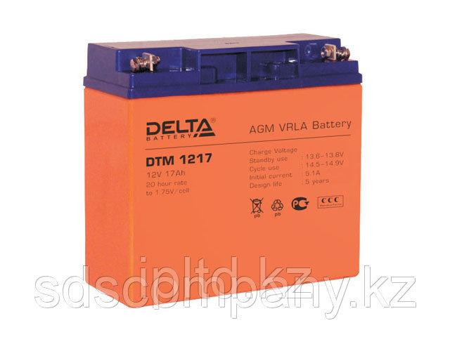 Delta аккумуляторная батарея DTM 1217 (6 лет)