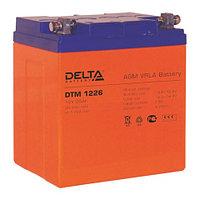 Delta аккумуляторная батарея DTM 1226