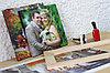 Печать фото, картин  на холсте астана