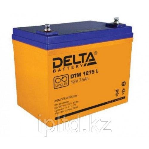 Delta аккумуляторная батарея DTM 1275 L