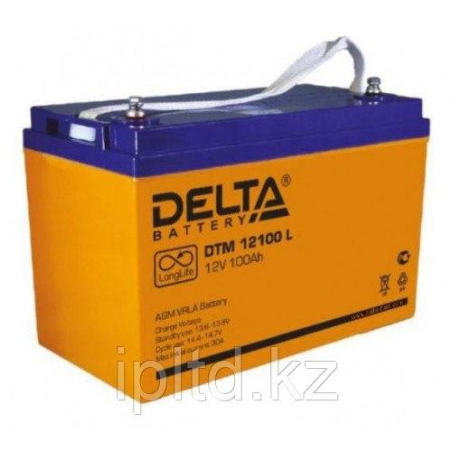 Delta аккумуляторная батарея DTM 12100 L (12 лет)