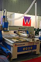 Фрезерный станок с чпу WOODMAN 1325 RD (с токарной приставкой)