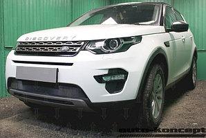 Защита радиатора Land Rover Discovery Sport 2014- black