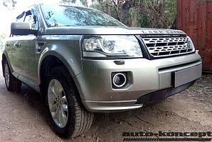 Защита радиатора Land Rover Freelander II (рестайлинг 2) 2012- (дизель) black