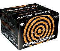 Шары пейнтбольные Alpha Sniper 50 cal