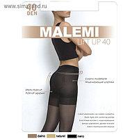 Колготки женские MALEMI Lift Up 40 den, цвет чёрный (nero), размер 3