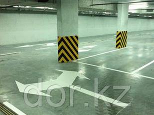 Проектные работы, проектирование разметки парковки