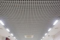 Грильято потолок 50х50