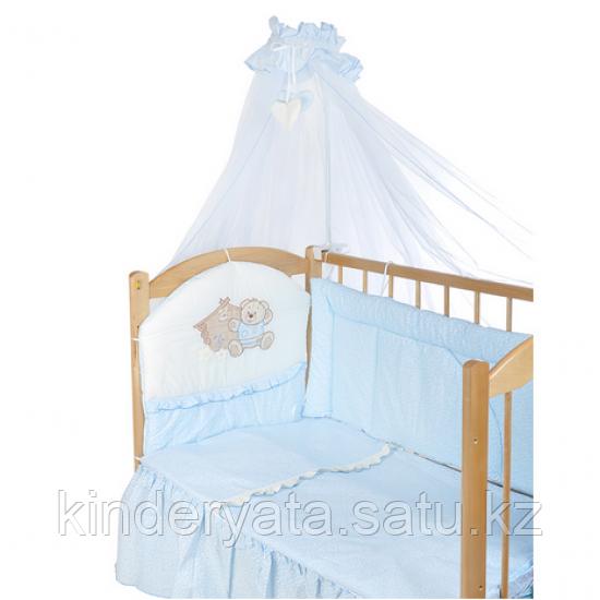 Комплект в кроваткуБАЛУ  БАБУШКИНЫ СКАЗКИ Голубой 7 предметов