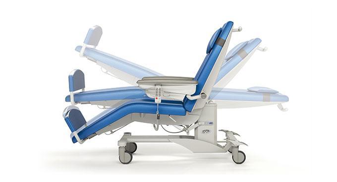 Многофункциональное кресло для проведения диализа, трансфузиологии и химиотерапии PURA