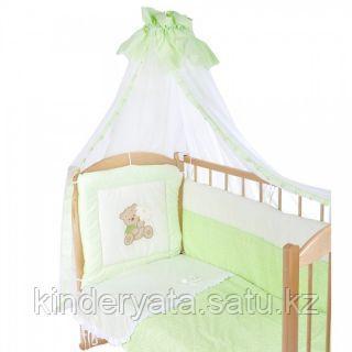Комплект в кровать БАЛУ Миша-Маша, зеленый(салатовый)