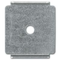 Пластина для подвеса к потолку проволочного лотка на 1 шпильке