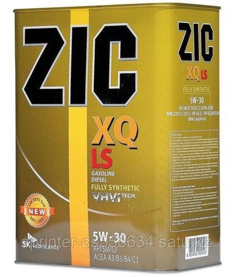 Моторное масло ZIC XQ LS 5w30 4 литра