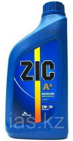 Моторное масло ZIC A+ 5w30 1 литр