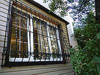 Решетки на окна черный, фото 1